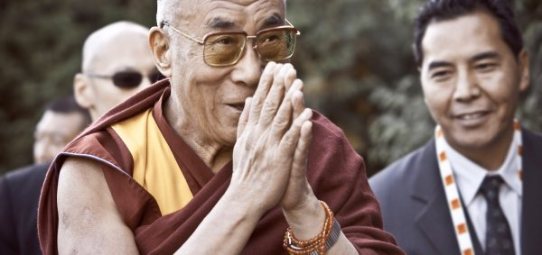 The Dalai Lama at The Vancouver Peace Summit, 2009, photographed by Kris Krüg.